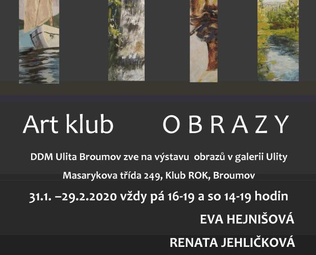Výstava – Art klub OBRAZY